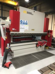 Morgan and Rushworth CNC Pressbrake 120 Ton